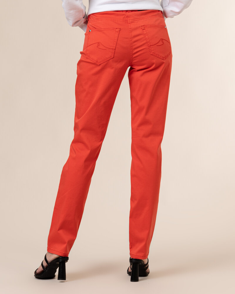 Spodnie Atelier Gardeur ZURI90 601021_37 czerwony - fot:4
