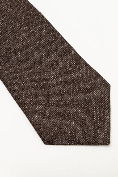 Krawat Eton A000_32986_38 brązowy