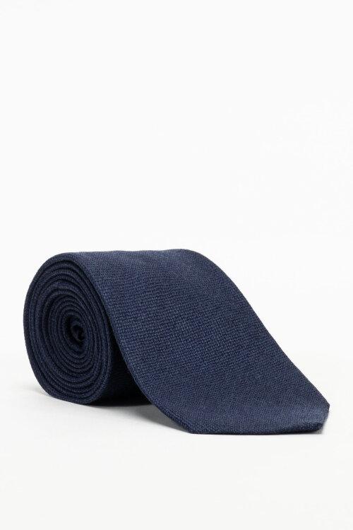Krawat Eton A000_32986_28 granatowy