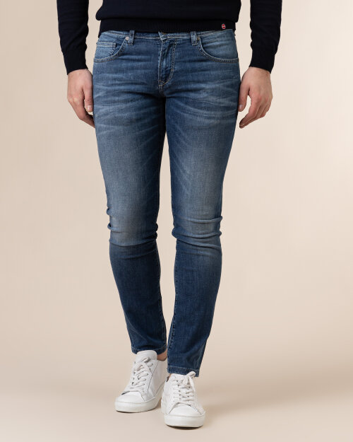 Spodnie Baldessarini 1273_16506_6828 niebieski