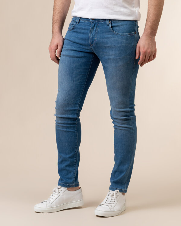Spodnie Baldessarini 1434_16506_6854 niebieski