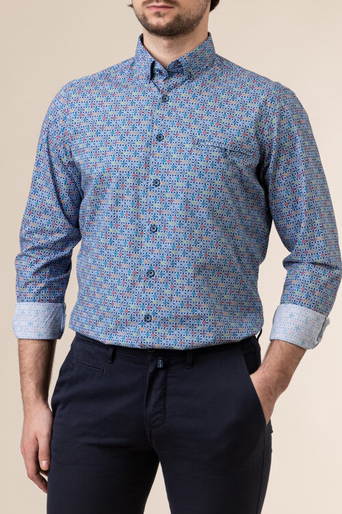 Koszula Redmond 211075110_10 wielobarwny
