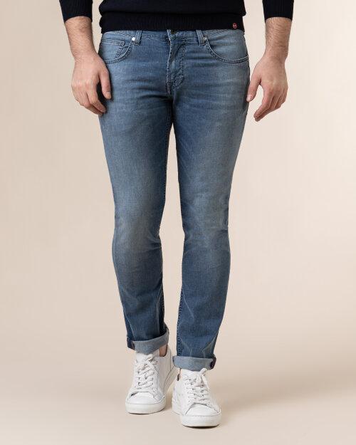 Spodnie Baldessarini 1439_16511_6856 niebieski