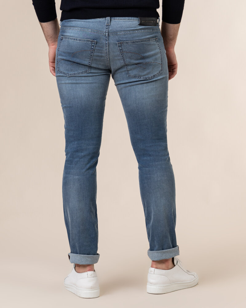 Spodnie Baldessarini 1439_16511_6856 niebieski - fot:4