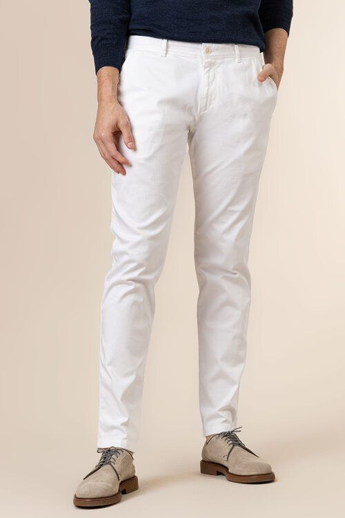 Spodnie Roy Robson 051043919460000/01_A100 biały
