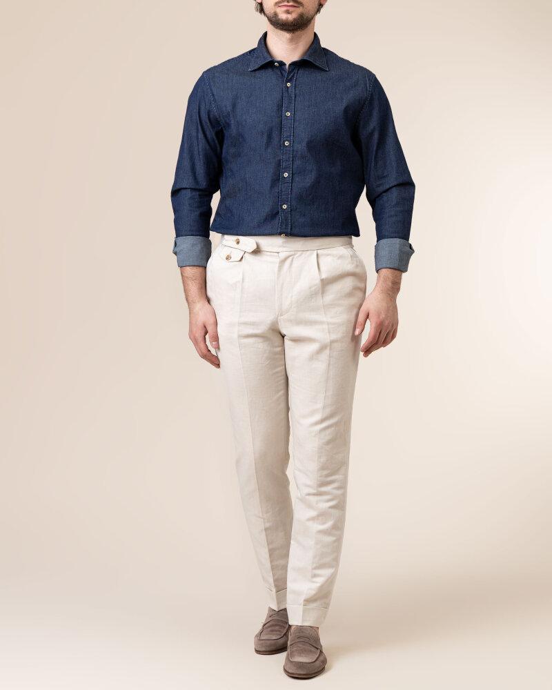 Spodnie Cavaliere 20SS21515_JERRY COMO_54 kremowy - fot:5