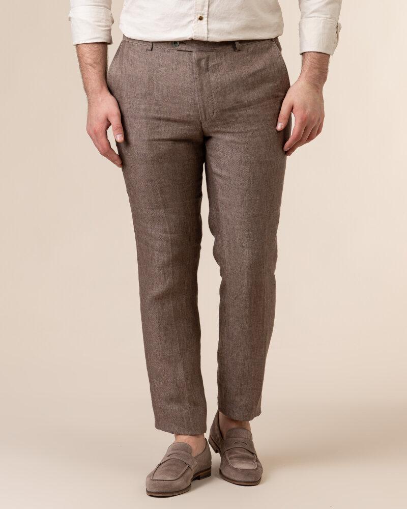 Spodnie Oscar Jacobson DENZ 5170_8747_403 brązowy - fot:2