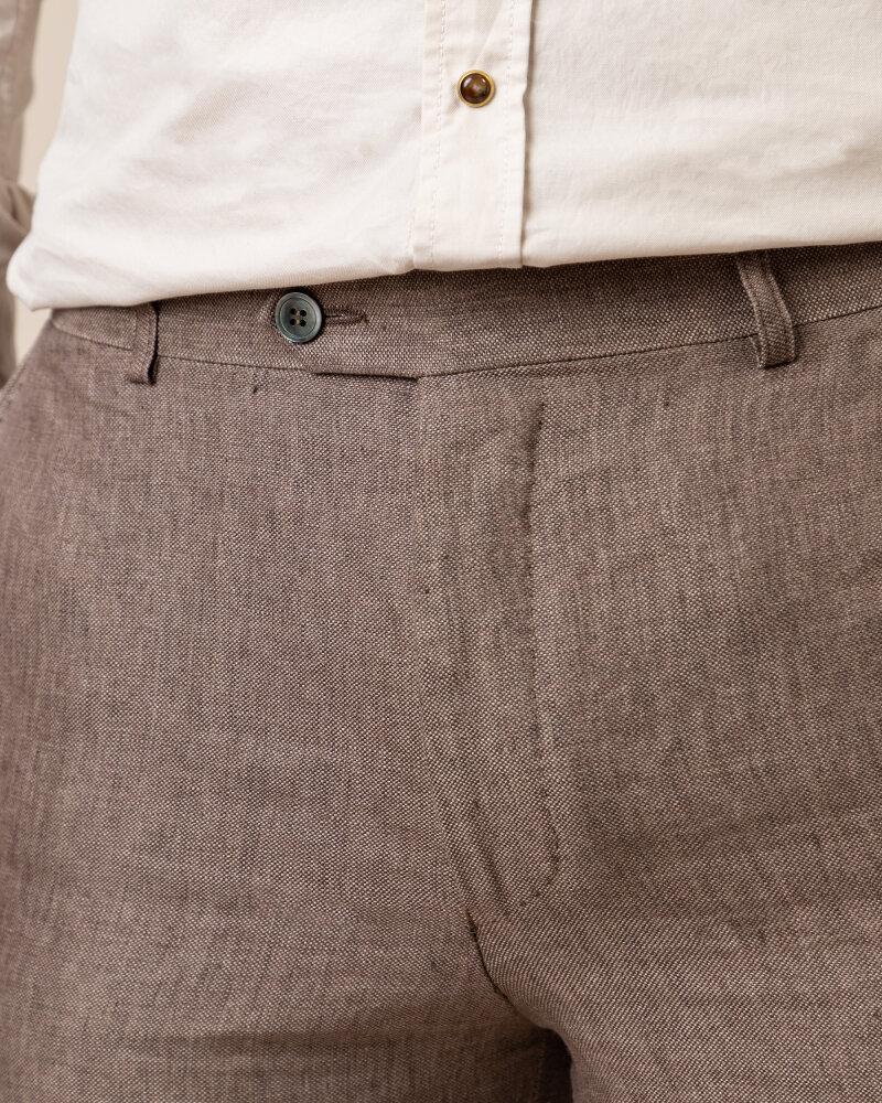 Spodnie Oscar Jacobson DENZ 5170_8747_403 brązowy - fot:3