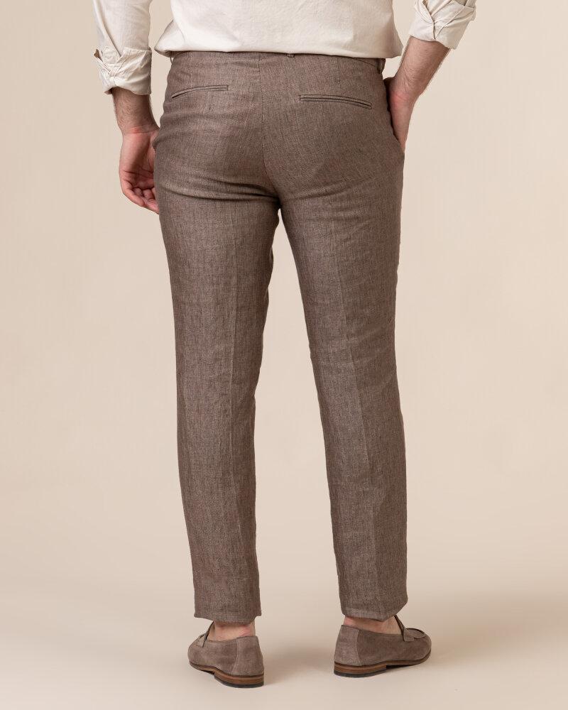 Spodnie Oscar Jacobson DENZ 5170_8747_403 brązowy - fot:4