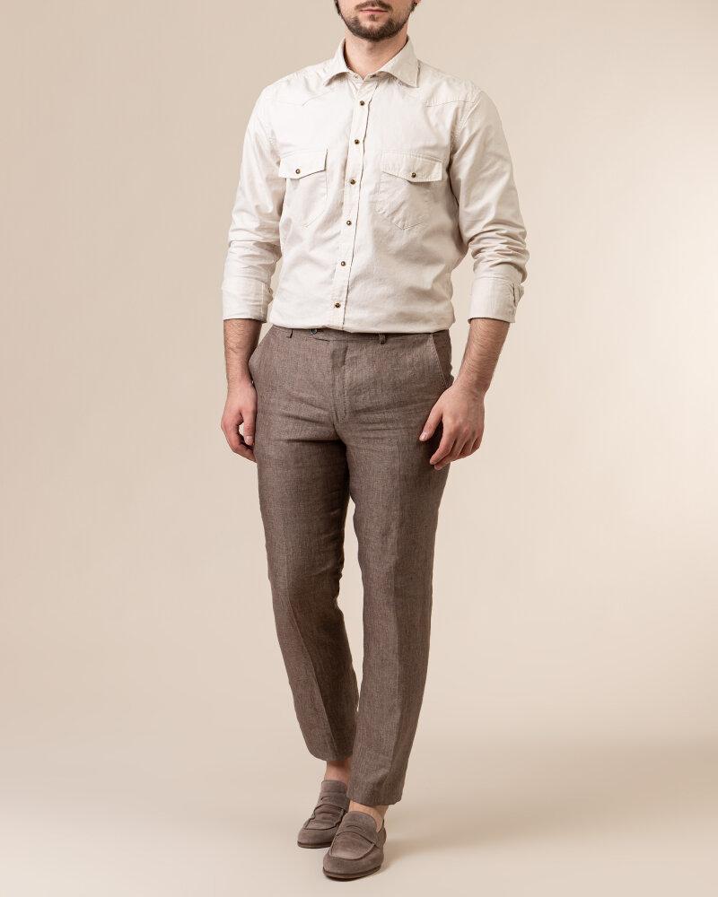 Spodnie Oscar Jacobson DENZ 5170_8747_403 brązowy - fot:5