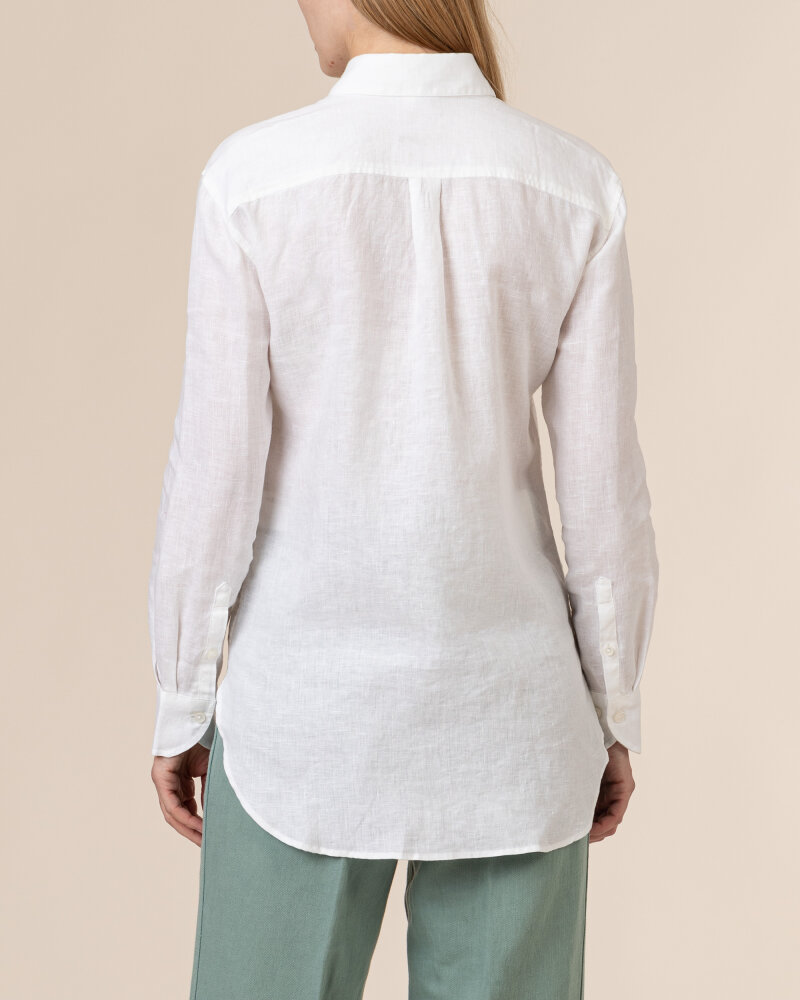 Koszula Stenstroms SAMMI 141031_6152_000 biały - fot:4