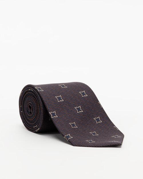 Krawat Oscar Jacobson 6580_5866_310 brązowy