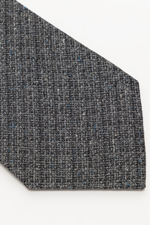 Krawat Oscar Jacobson 6580_5867_110 ciemnoszary