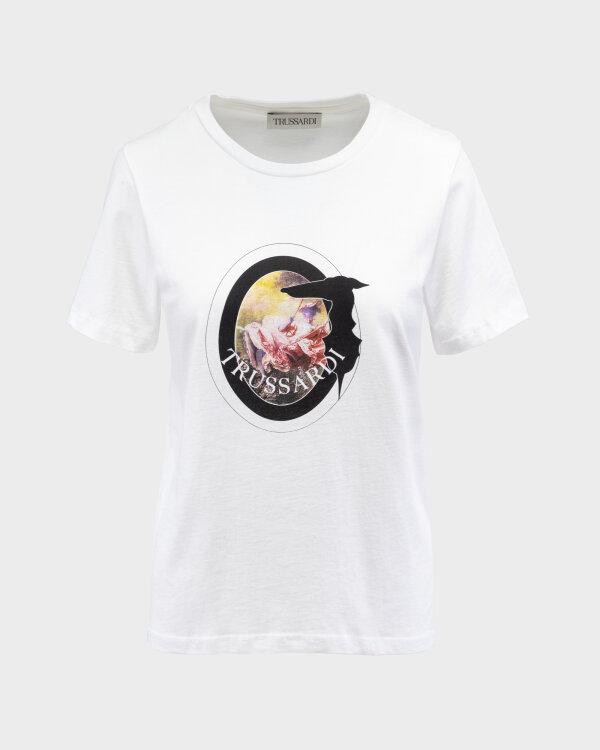 T-Shirt Trussardi  56T00342_1T005061_W009 biały