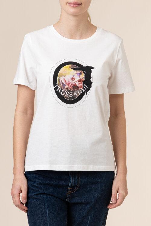 T-Shirt Trussardi Jeans 56T00342_1T005061_W009 biały