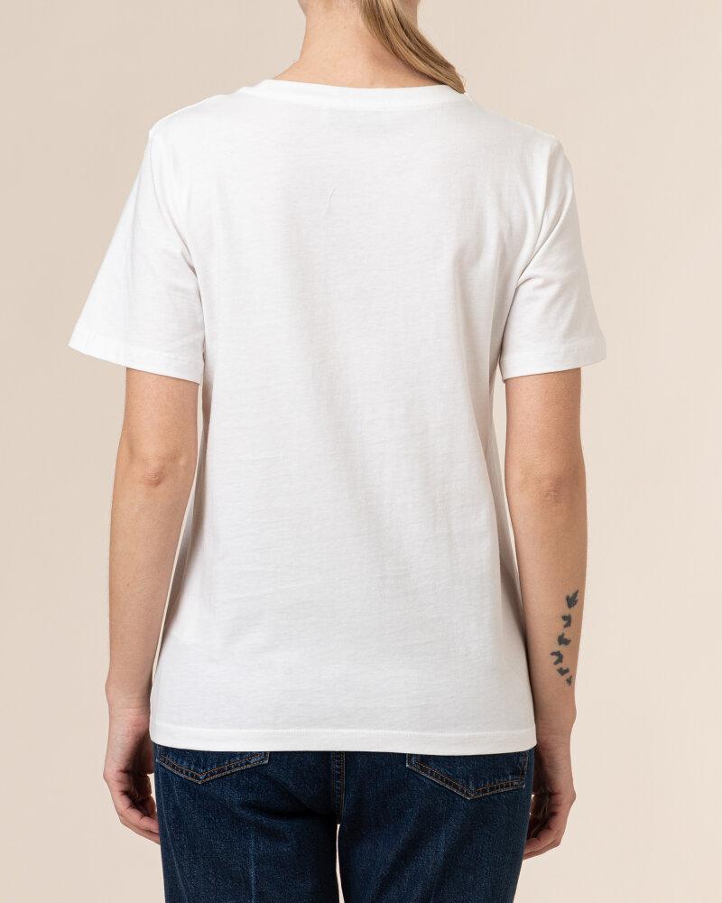T-Shirt Trussardi  56T00342_1T005061_W009 biały - fot:4