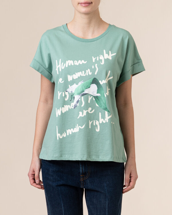 T-Shirt Trussardi  56T00375_1T005228_G217 zielony