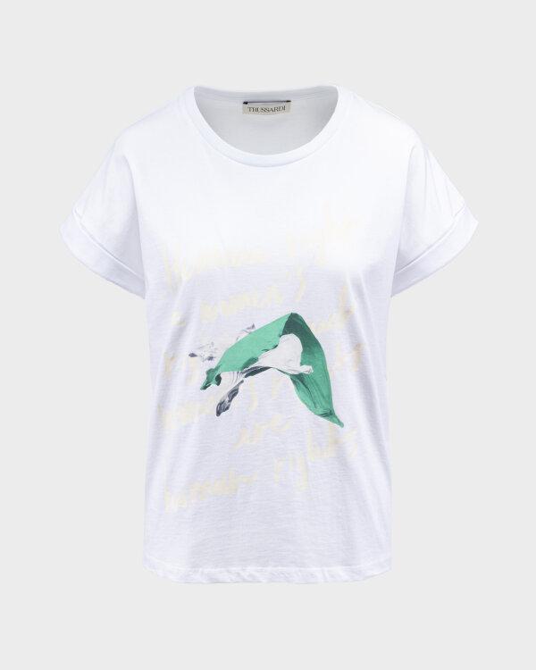 T-Shirt Trussardi  56T00375_1T005228_W001 biały