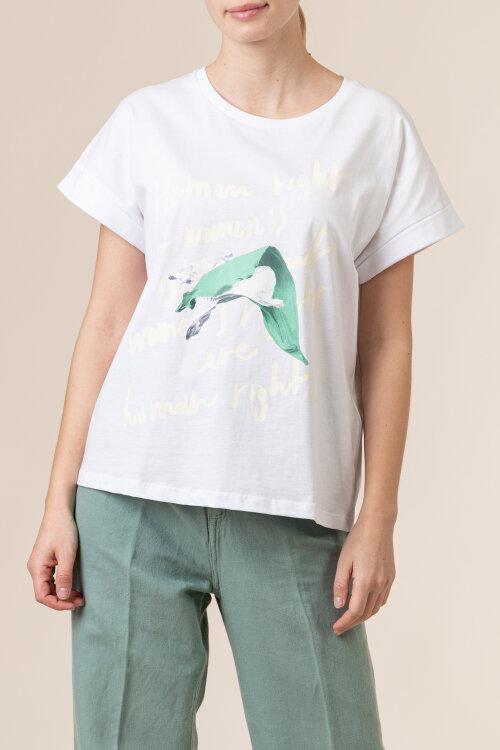 T-Shirt Trussardi Jeans 56T00375_1T005228_W001 biały
