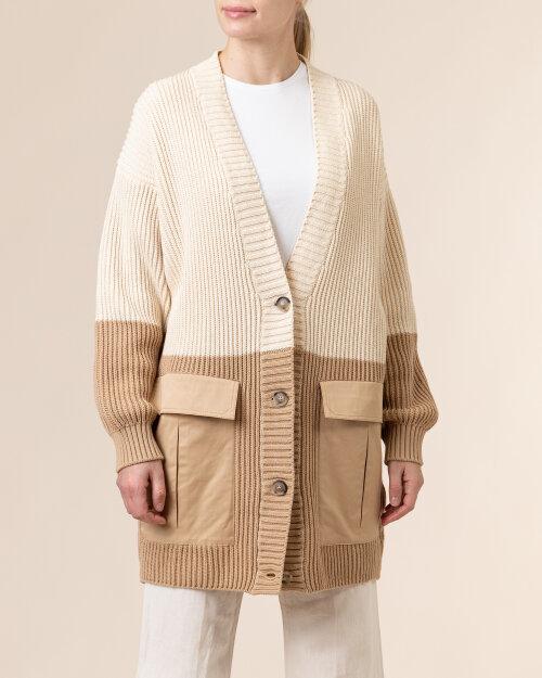 Sweter Trussardi  56M00399_0F000650_W009 kremowy