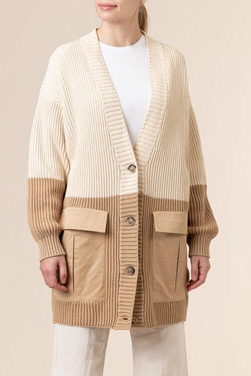 Sweter Trussardi Jeans 56M00399_0F000650_W009 kremowy