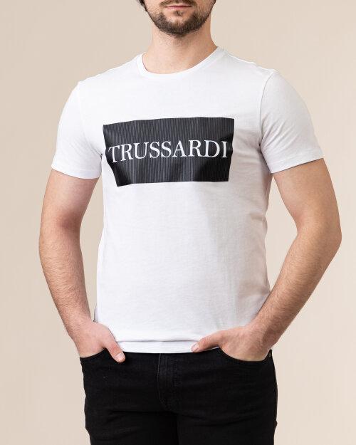 T-Shirt Trussardi  52T00500_1T003605_W001 biały