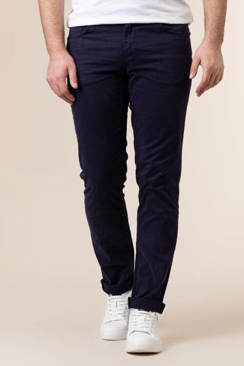 Spodnie Trussardi Jeans 52J00007_1T004946_U290 granatowy
