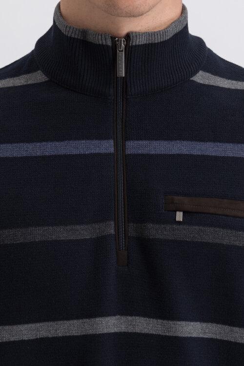 Bluza Bugatti 45053_3 8500_390 granatowy
