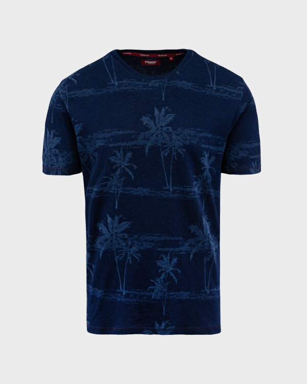 T-Shirt Pioneer Authentic Jeans 07377_04577_578 granatowy