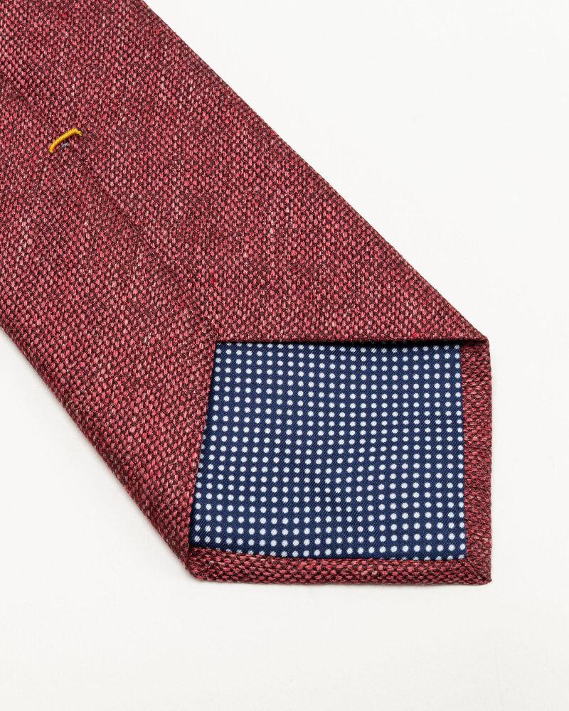 Krawat Eton A000_32986_56 bordowy - fot:3