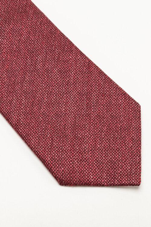 Krawat Eton A000_32986_56 bordowy