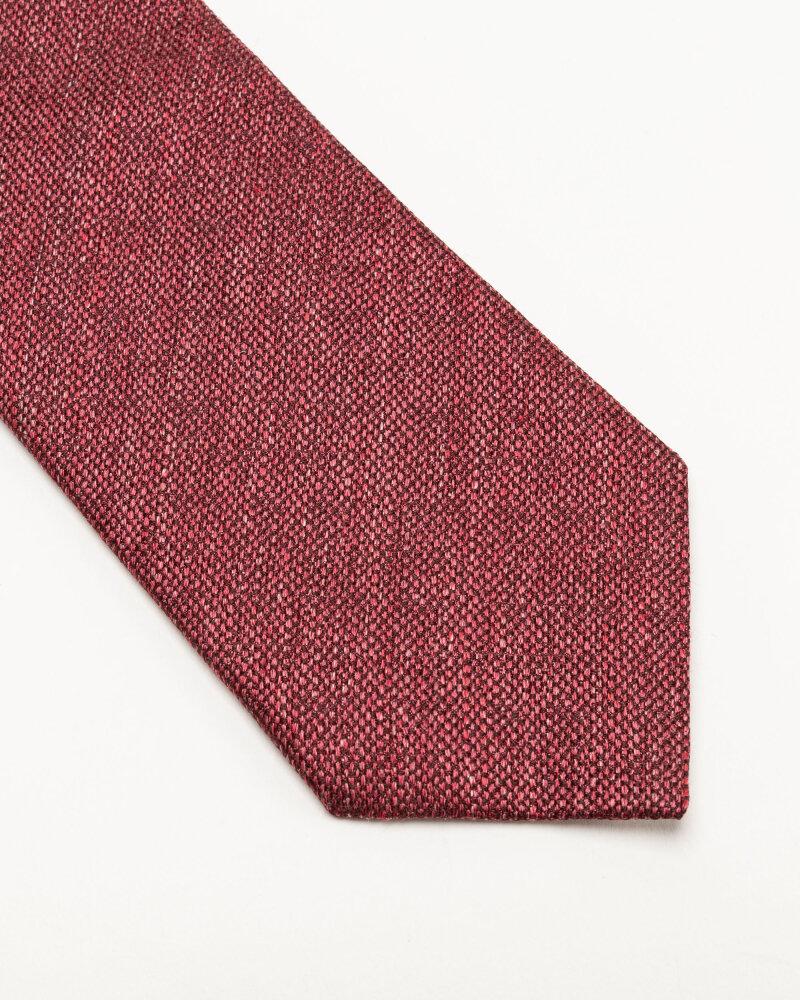 Krawat Eton A000_32986_56 bordowy - fot:2