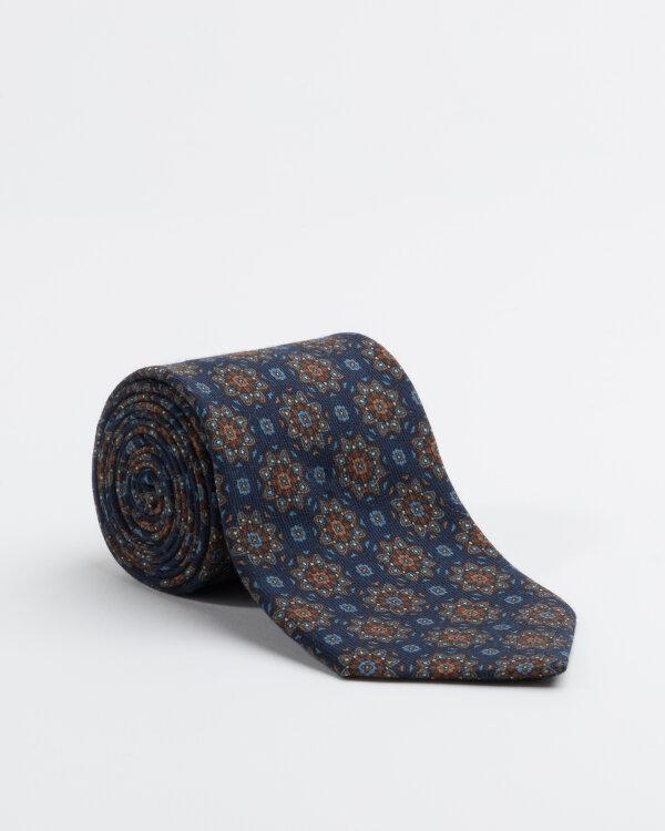 Krawat Stenströms 913143_001 granatowy