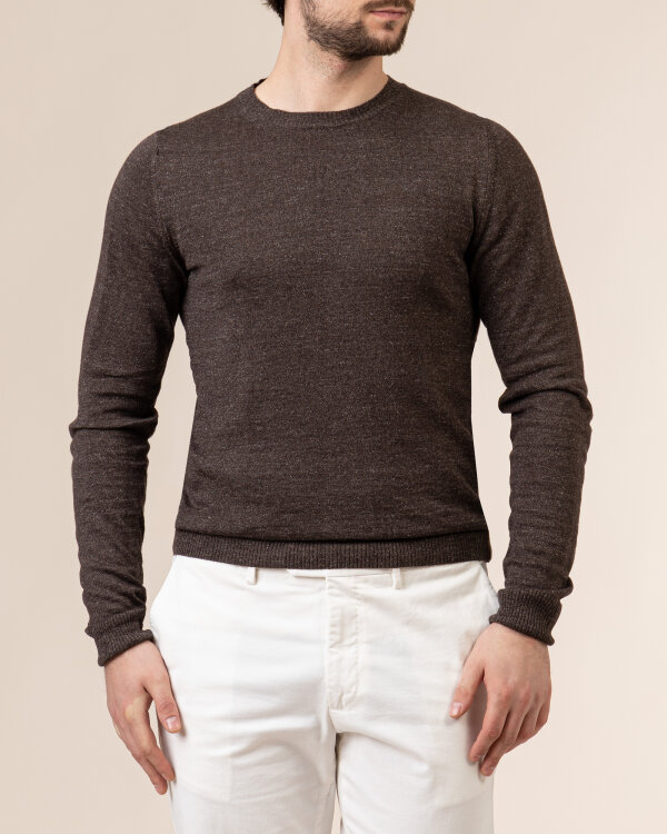 Sweter Stenstroms 420105_1791_290 brązowy