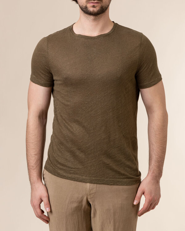 T-Shirt Stenstroms 440038_2462_460 khaki