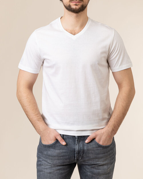 T-Shirt Baldessarini 5015_20007_1010 biały