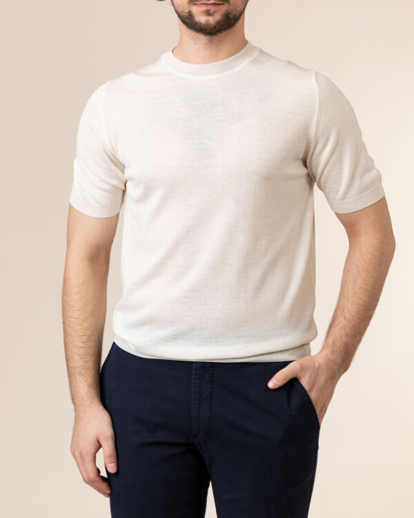 T-Shirt Stenstroms 420078_1350_050 biały