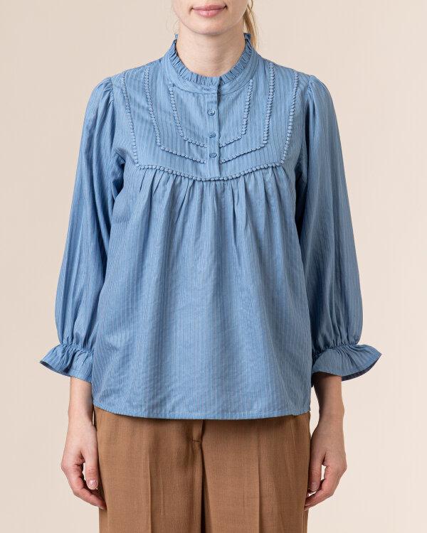 Koszula Lollys Laundry 21105_2006_DUSTY BLUE niebieski
