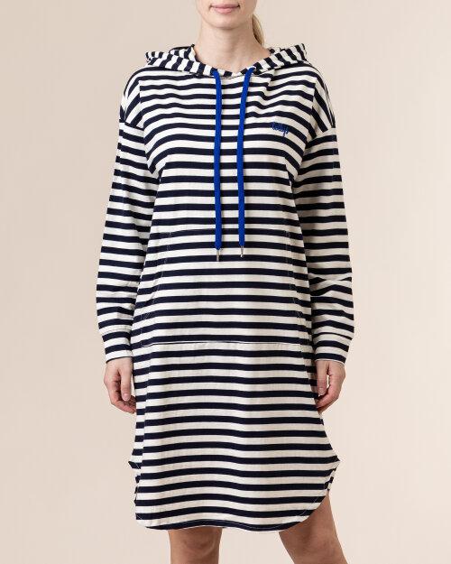 Sukienka Lollys Laundry 21120_3049_STRIPE biały