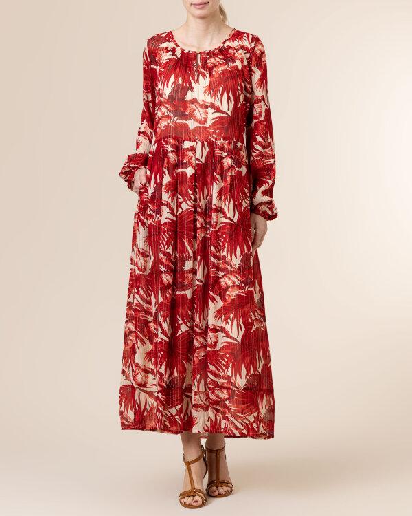 Sukienka Lollys Laundry 21136_3020_FLOWER PRINT czerwony