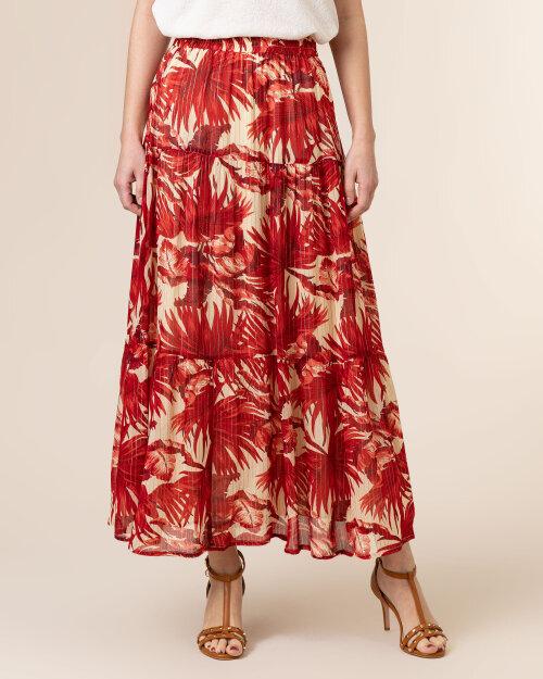 Spódnica Lollys Laundry 21136_4008_FLOWER PRINT czerwony