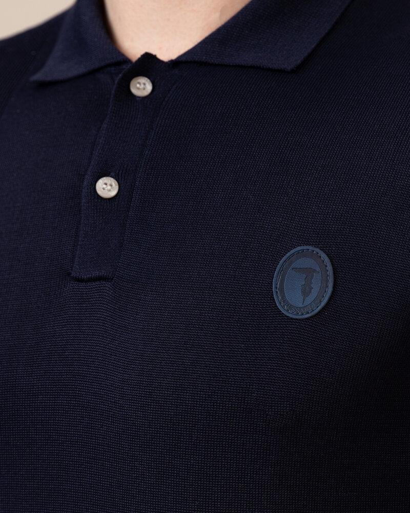 Polo Trussardi  52M00436_0F000629_U290 granatowy - fot:3
