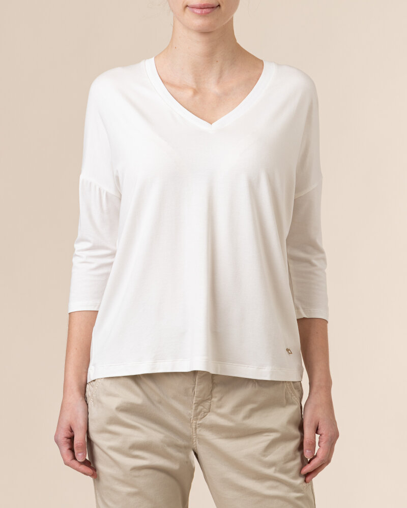 T-Shirt Daniel Hechter 71310-711600_060 biały - fot:2