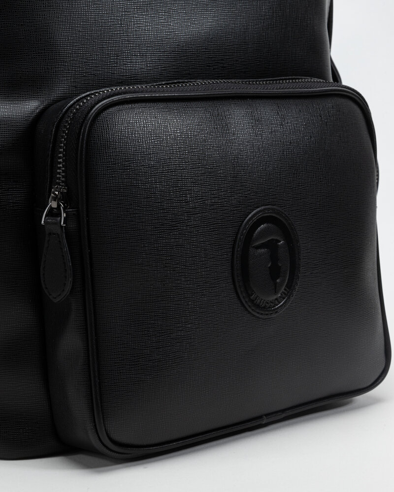 Plecak Trussardi  71B00244_9Y099999_K299 czarny - fot:2
