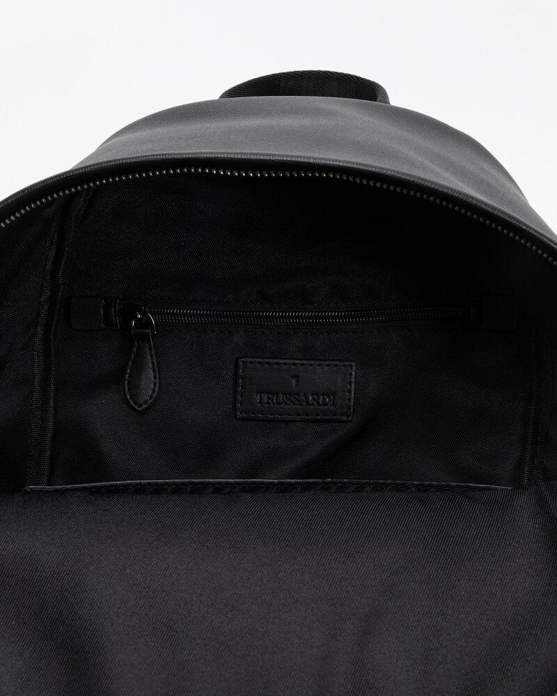 Plecak Trussardi  71B00244_9Y099999_K299 czarny - fot:4
