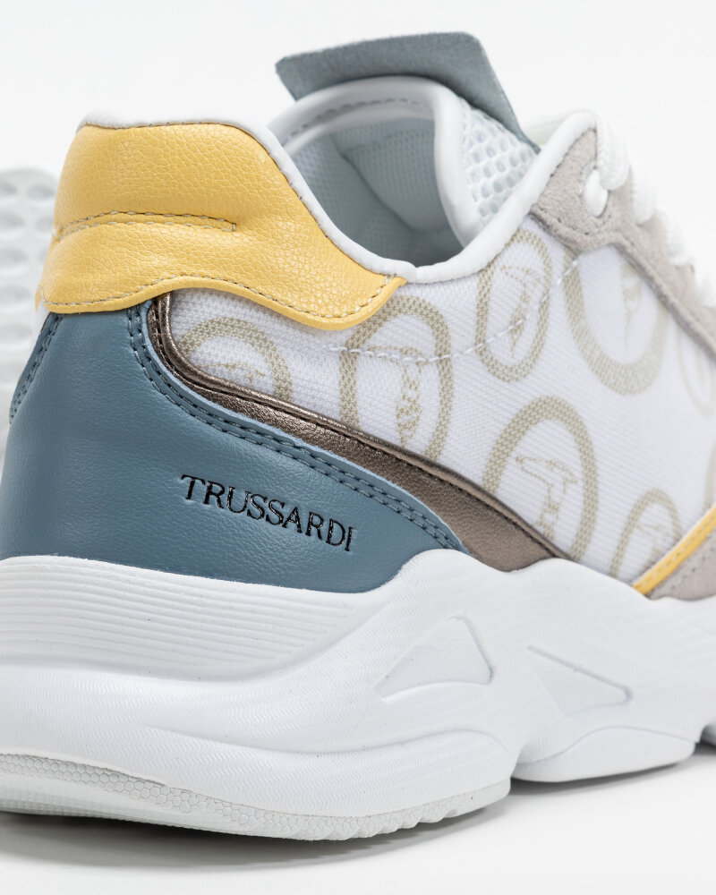 Buty Trussardi  79A00636_9Y099998_U717 biały - fot:5