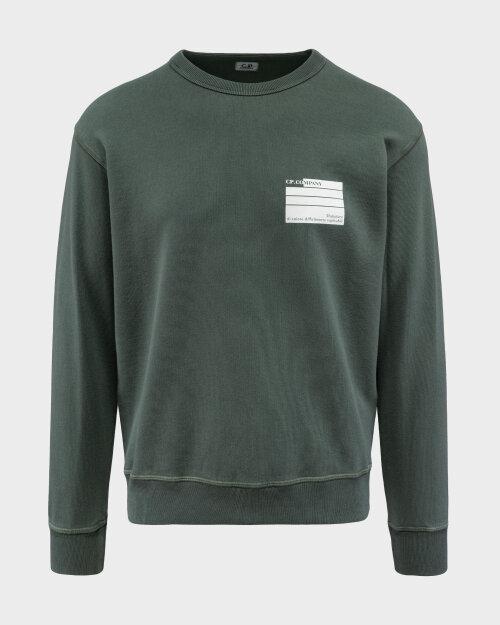 Bluza C.p. Company 10CMSS296A005398O_668 zielony