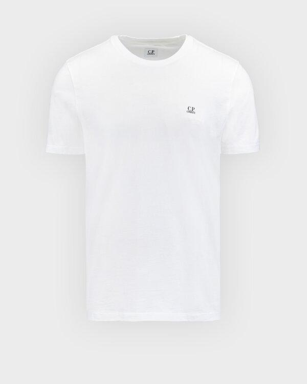 T-Shirt C.p. Company 10CMTS039A005100W_103 biały