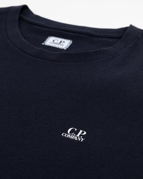 T-Shirt C.p. Company 10CMTS039A005100W_888 granatowy