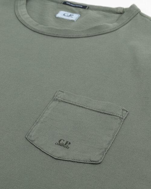 T-Shirt C.p. Company 10Cmts123A000444O_668 Zielony C.p. Company 10CMTS123A000444O_668 zielony